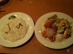 エビチリ 夏野菜